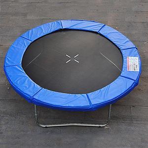 Randabdeckung für Trampoline (Farbe: blau)