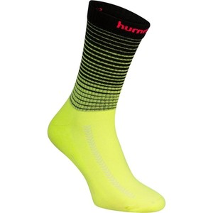HUMMEL Handballsocken Erwachsene schwarz/gelb/rosa, Größe: 39/42 M