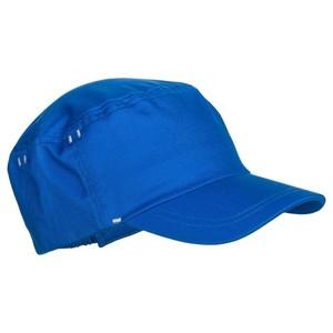 DOMYOS Cap 500 Gym Baby mit Print blau , Größe: 4-6 J. - Gr. 100-116