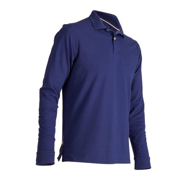 INESIS Golf-Poloshirt 500 langarm Herren dunkelblau, Größe  S von ... 8d94ad8191