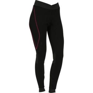 WED´ZE Skiunterwäsche Funktionshose XWarm Wolle Damen schwarz/rosa, Größe: M