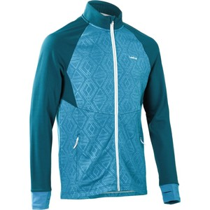 WED´ZE Ski-Sweatshirt Mid Warm 500 Herren petrol, Größe: S
