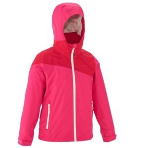 QUECHUA 3-in-1-jacke Hike 900 warm Kinder Mädchen rosa, Größe: 8 J. - Gr. 128