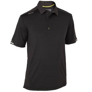 TRIBORD Poloshirt kurzarm Segeln Race Herren schwarz, Größe: S