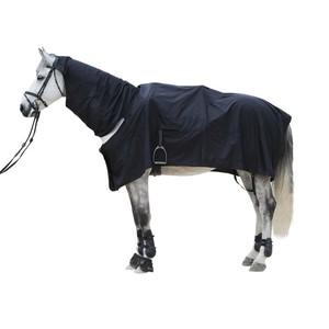 FOUGANZA Regenschutzdecke Protect´Rain für Pony und Pferd schwarz, Größe: 165 CM