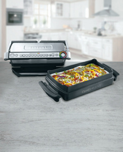 TEFAL Optigrill + XL mit Snacking & Baking GC724D