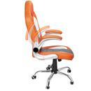 Bild 2 von Deuba Bürostuhl Sportsitz grau/orange