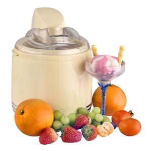 Kalorik 2 in 1 Retro-Eismaschine und Joghurtbereiter creme-weiß TKG ICE 2500