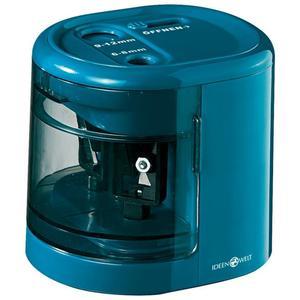 IDEENWELT Elektrischer Anspitzer blau