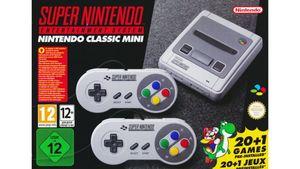 Super NES Classic Mini - Konsole