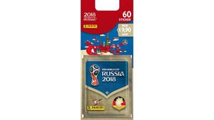 Panini - FIFA World Cup Russia 2018 Blister 60 Sticker
