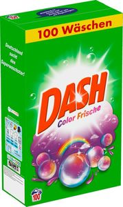 Dash Colorwaschmittel Pulver Color Frische 6,5 kg – 100 WL
