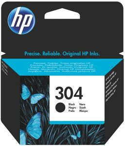 Original HP 304 Tintenpatrone  BK