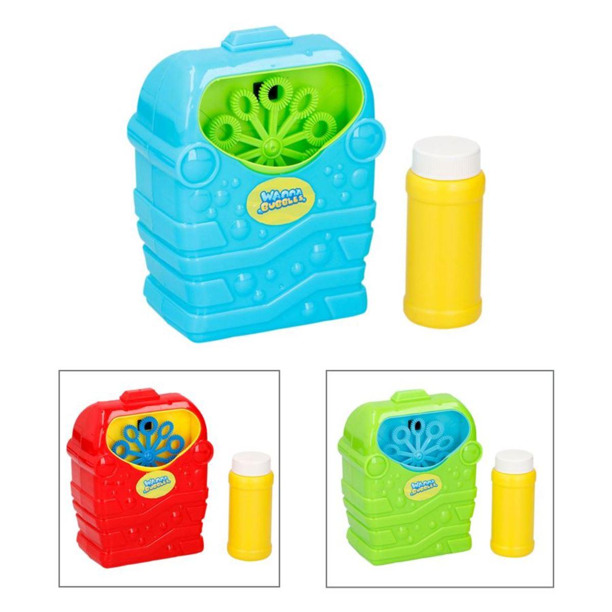 Bild 1 von Bubblez Seifenblasenmaschine mit Seifenwasser 118ml