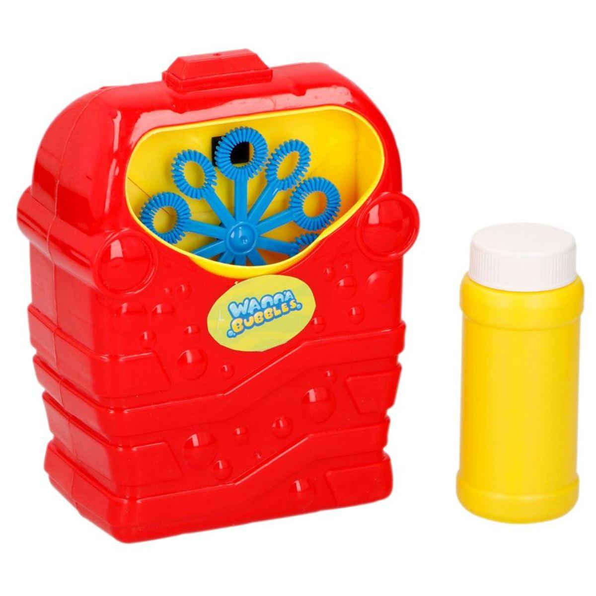 Bild 3 von Bubblez Seifenblasenmaschine mit Seifenwasser 118ml