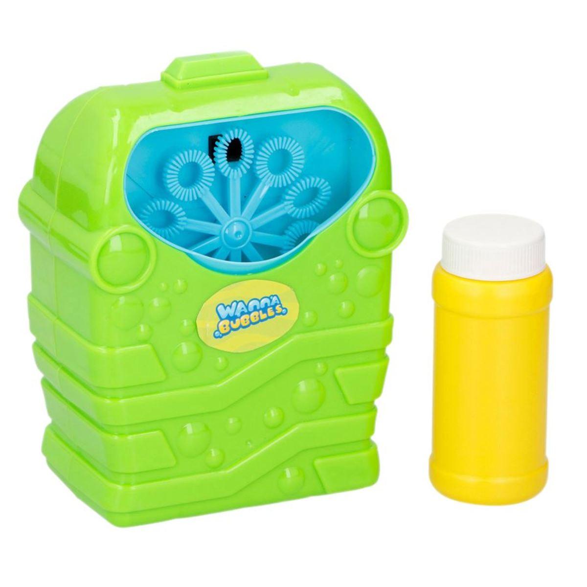Bild 4 von Bubblez Seifenblasenmaschine mit Seifenwasser 118ml