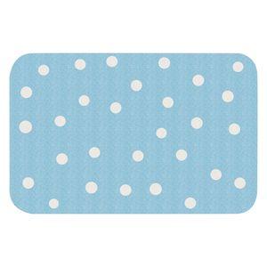 Kinderteppich Ninos II - Kunstfaser - Pastellblau / Weiß, Zala Living