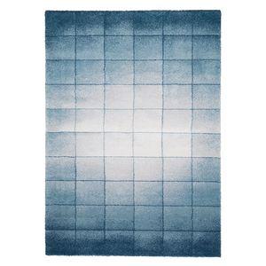 Hochflorteppich Beau Cosy - Mischgewebe - Blau / Grau - 120 x 170 cm, Top Square