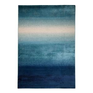 Kurzflorteppich Batik - Mischgewebe - Blau - 160 x 230 cm, Top Square