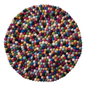 Filzteppich Vaila - Filz - Multicolor - Ø 150 cm, Studio Copenhagen