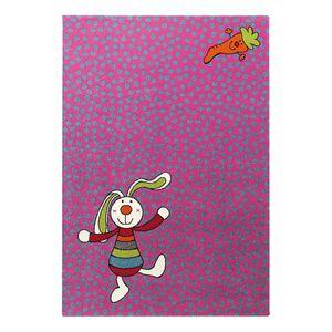 Kinderteppich Rainbow Rabbit - Pink - 200 x 290 cm, Sigikid