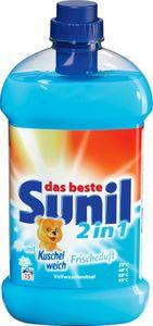 Sunil 2 in 1 Vollwaschmittel Kuschelweich Frischeduft