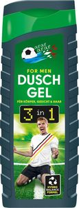 PURE & BASIC Fussball Dusche for Men 3in1