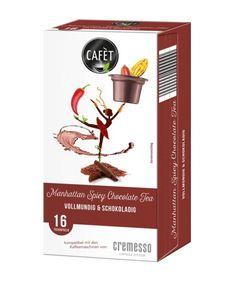 Cafet für Cremesso Manhattan Spicy Chocolate Tea