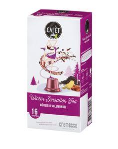 Cafet für Cremesso Teekapseln Wintersensation
