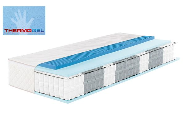 f.a.n. 7-Zonen Boxspring-Matratze mit integrierter Thermogel-Auflage