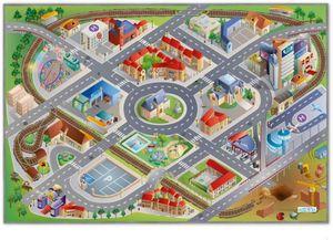 Spielteppich Stadt - ca. 100x150 cm