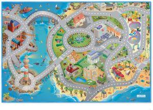 Spielteppich Hafenstadt - ca. 100x150 cm