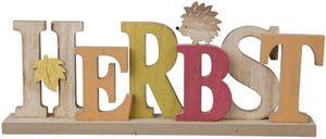 Deko-Schriftzug - Herbst - aus Holz - 40 x 14 x 6 cm