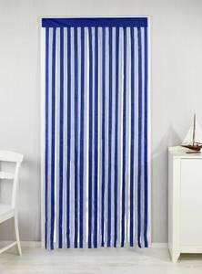 Türvorhang blau-weiß Wenko
