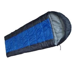 Schlafsack RIGI blau/grau