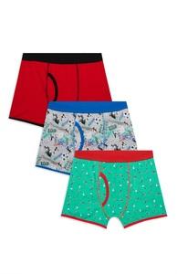 Boxershorts für Jungen, 3er-Pack