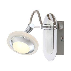 Strahler Tommy - Aluminium - Silber - 1-flammig, Globo Lighting