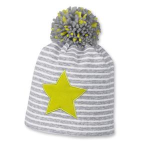 Mütze mit Bommel für Jungen