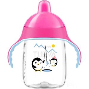 PHILIPS AVENT - Trinklernflasche SCF755/00 pink, 340 ml