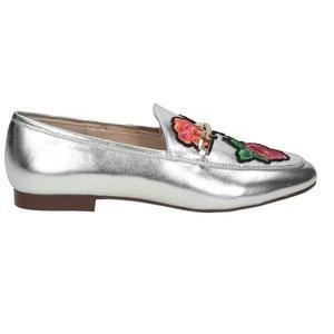 Damen Loafer, silber