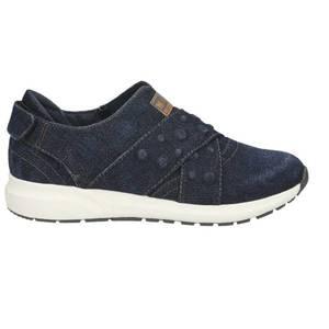Damen Slip-On Sneaker, dunkelblau