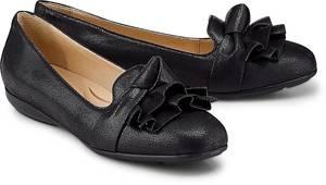 Slipper Annytah von Geox in schwarz für Damen. Gr. 37.5,38,39,39.5