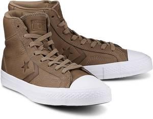 Sneaker Star Player von Converse in beige für Herren. Gr. 41 1/2