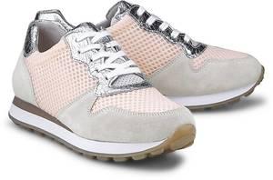 Mesh-Sneaker York G von Gabor in rosa für Damen. Gr. 36 2/3,37 1/3,38 2/3,40,40 2/3