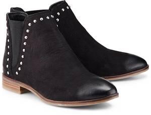 Trend-Chelsea von Cox in schwarz für Damen. Gr. 36,37,38,39,40,41,42