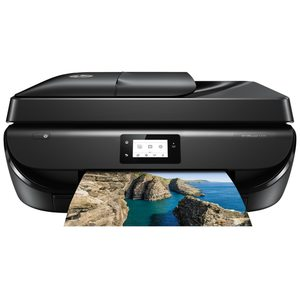 HEWLETT PACKARD Officejet 5220 All-in-One Drucker - Drucken, Kopieren, Scannen und Faxen mit einem Gerät mit Ihrem PC, Smartphone und Tablet-PC
