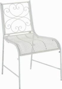 nostalgischer Metall-Bistrostuhl ALVA aus Eisen, bis zu 6 Farben wählbar, Sitzhöhe 44 cm