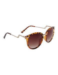 Damen Sonnenbrille in Schildpatt-Optik