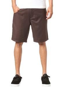 Light Pin - Chino Shorts für Herren - Braun