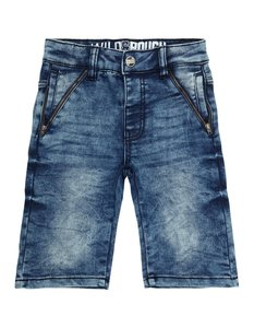 Jungen Stone-Washed-Jeansshorts